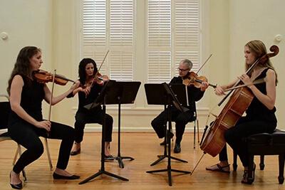 Bach Air on a G String Nelson String Quartet